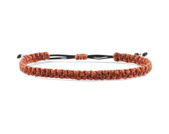Basik Macrame Bracelet Large ECO Friendly Colombia  Adjustable Bracelet
