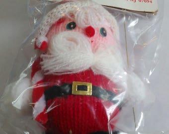 vintage christmas decoration Santa Doll
