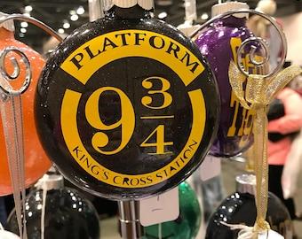 "Harry Potter glitter ornament - 4"""