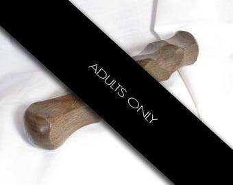 BEST SELLER!!! Don't Stop Wooden Dildo Sextoy Handmade Mature
