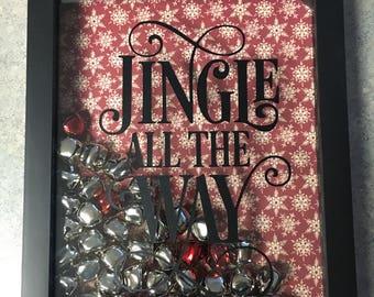Jingle All the Way Shadow Box Decor