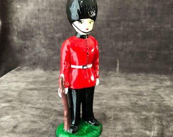 Vintage British England yeoman royal guard beefeater child boy figurine