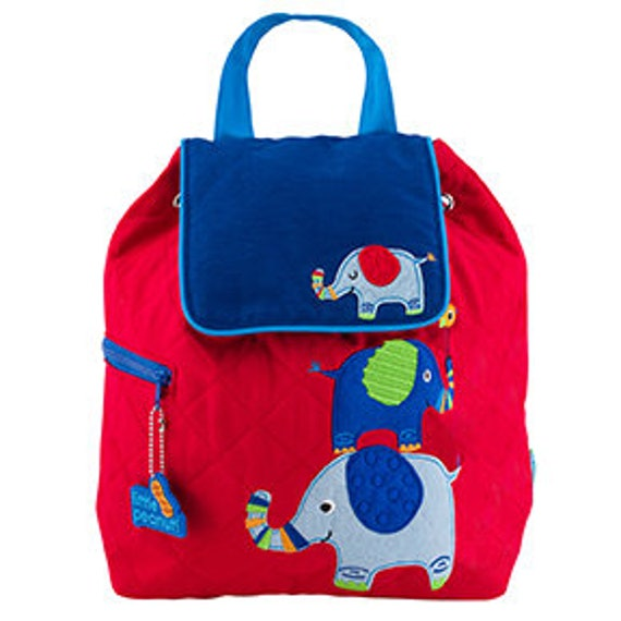 Stephen Joseph Quilted Elephant Backpack