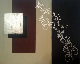 """Oil on canvas """"gold fairy"""""""