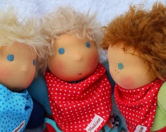 "Small desire cuddle doll ""Benny"""