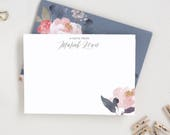 Script Personalized Stationary. Personalized Note Card Set. Stationery. Personalized Stationary for Teachers. Personalized Note Cards. PS5