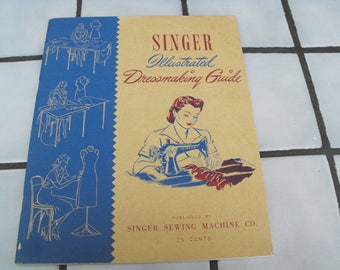 Singer Sewing Machine Co. 1943 How-To Book