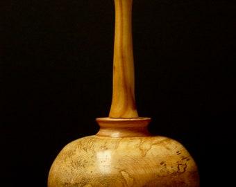 spalted maple decorative urn