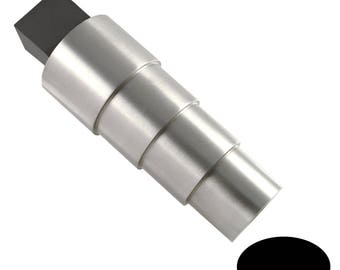 Bracelet Mandrel 4 Stepped With Tang - Oval - 43-205
