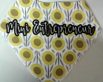 Entrepreneur Baby Bandana Style Bibs 3 to choose from