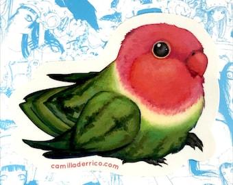 Love Melon Vinyl Stickers