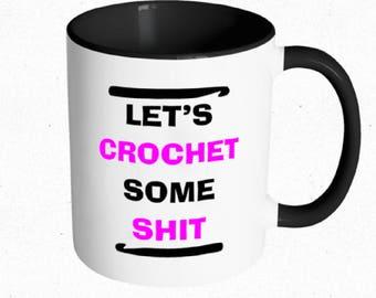 Let's Crochet Mug