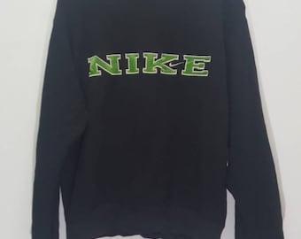 Vintage Nike swoosh big logo spellout sweatshirt
