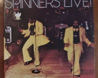 The Spinners Live Vintage Vinyl LP 2 record set