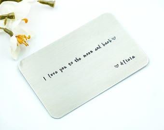 Wallet Insert Etsy