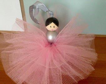 Pretty ballerina hanging decorative