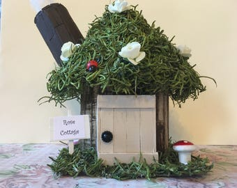 Fairy House -  Rose Cottage