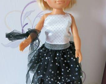 dress frou frou Nancy doll