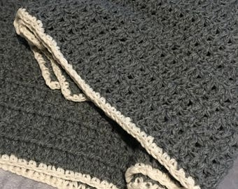 Chunky Crochet Afghan Blanket