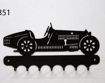 Hangs 26 cm pattern metal keys: Bugatti grand prize 1935