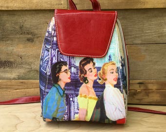 90s Small Backpack Purse