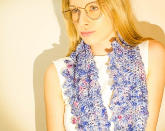 Lace-look Scarf Crochet Pattern – Luxurious Layers Collection – Crochet Cowl Pattern – Beginners Pattern – Crochet Pattern