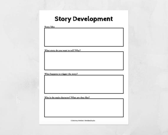 Novel Writing Worksheets Nanowrimo Novel Planner Printable – Novel Writing Worksheets