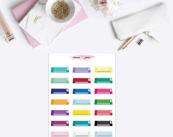 Silhouette Cameo Planner Stickers