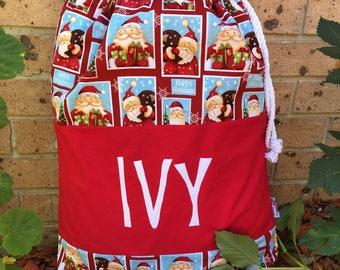 Personalised Santa Sack - Christmas Bag - Santa Bag