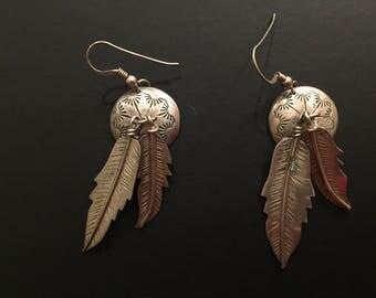 Vintage Native American Earrings