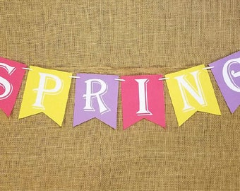 Hanging Spring Sign
