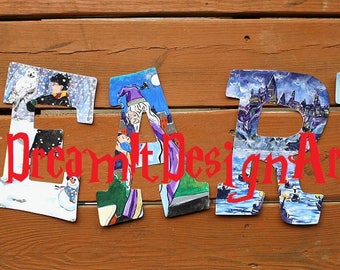 It's Like Magic LEARN Wall Letters -- Set of 5