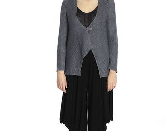 Casual linen cardigan, S/M size.