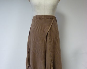 Reserved for Maggie.The hot price, brown cotton skirt, XL size.