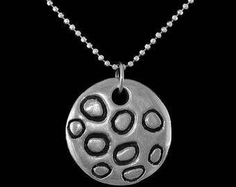 Massive silver pendant