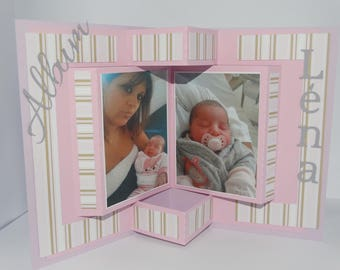 Album photo frame invitation