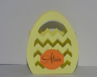 Mark up Easter basket