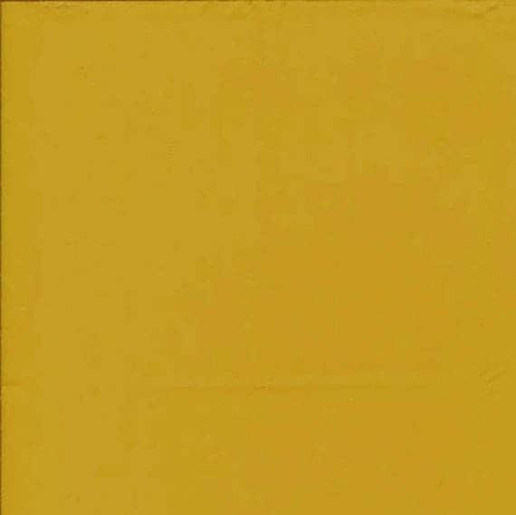 tissu coton uni couleur jaune curry. Black Bedroom Furniture Sets. Home Design Ideas