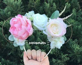 Aurora - Floral Disney Ears (Deluxe)