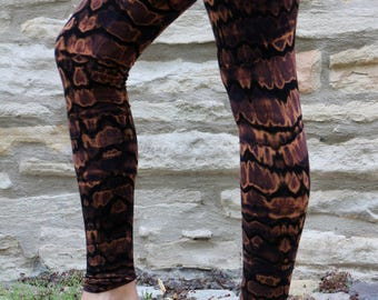 Kimama Leggings Blue Animal