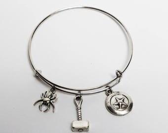Avengers Bangle Bracelet