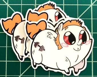 Pony Chubs! Buff Biceps Sticker