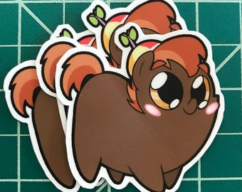 Pony Chubs! Button Mash Sticker