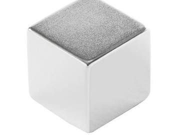 1 Inch Heavy-Duty Neodymium Rare Earth Large Cube Magnet N52