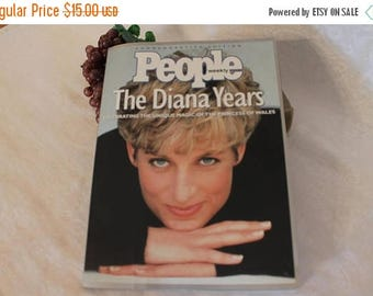 SALE 1997 People Weekly Magazine Commemorative Edition - The Diana Years, Lady Diana, Princess of Wales
