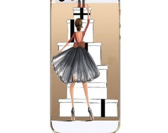 Cell Phone Case Iphone 6/6S  Silicone, transparent, fashion case
