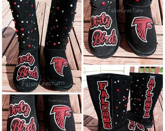 Atlanta Falcons Custom Boots