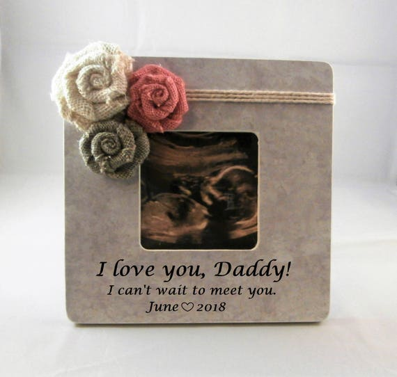 Personalized Gift For Dad From Daughter Pregnancy