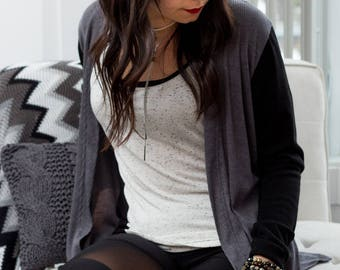 Jacky Cardigan - Jacket for women - made in Quebec