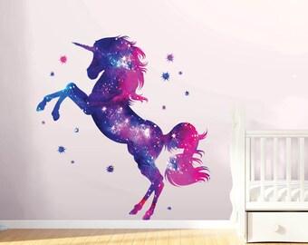 Galaxy Unicorn Etsy